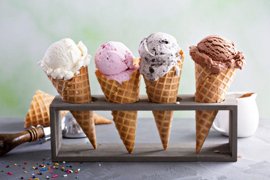 Homemade Ice Cream and Gelato